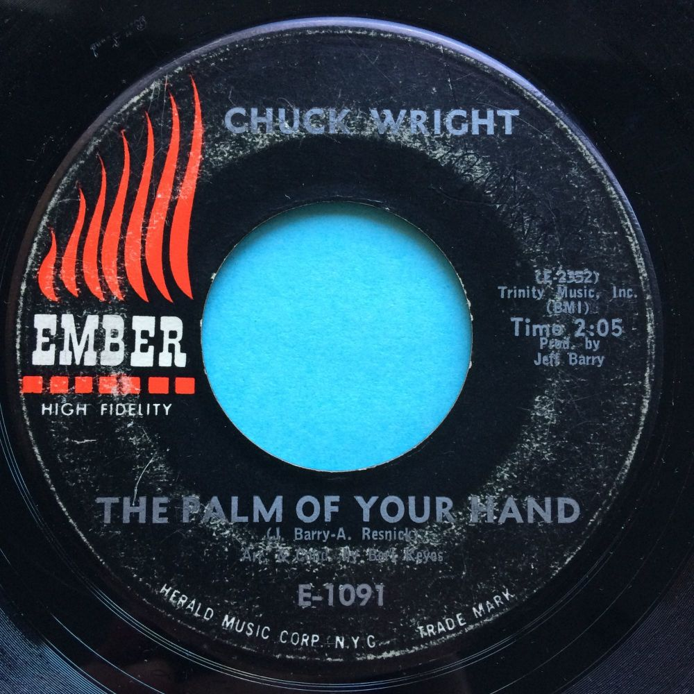 Chuck Wright - The palm of my hand - Ember - VG+