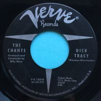 Chants - Dick Tracy - Verve - VG+