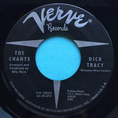Chants - Dick Tracy - Verve - VG+
