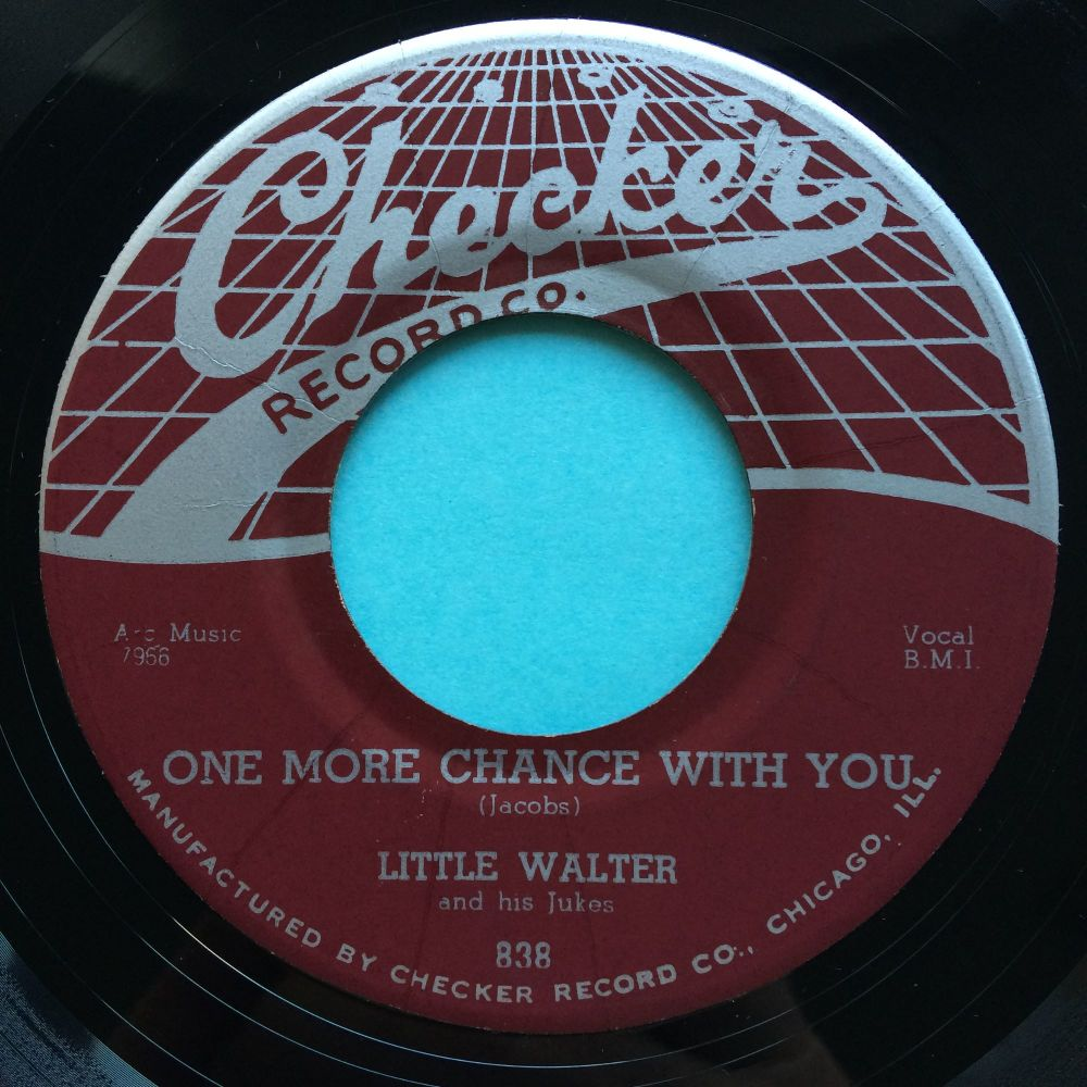 Little Walter - One more chance with you - Checker - Ex- (edge warp nap)