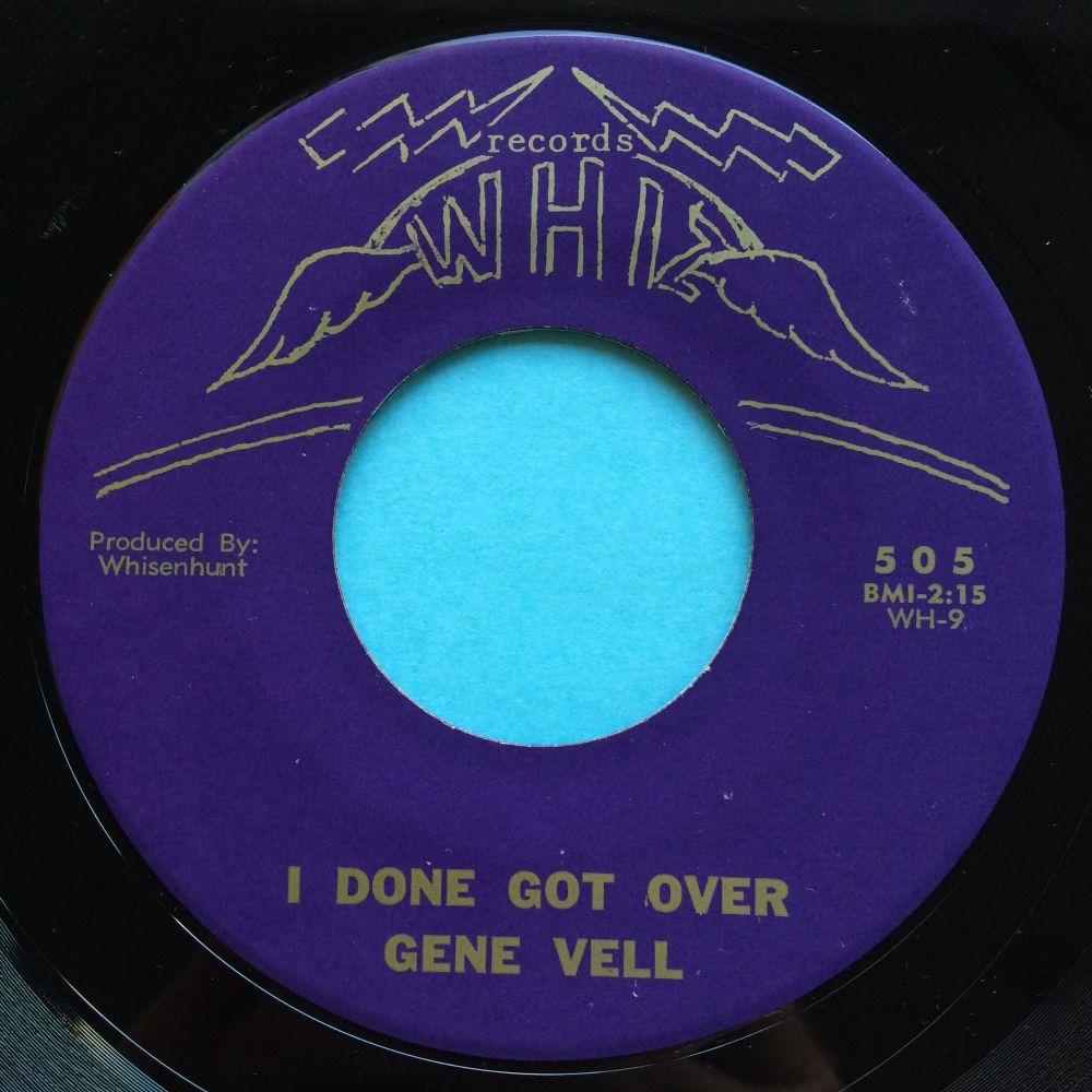 Gene Vell - I done got over - Whiz - Ex