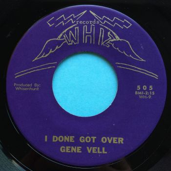 Gene Vell - I done got over - Whiz - Ex