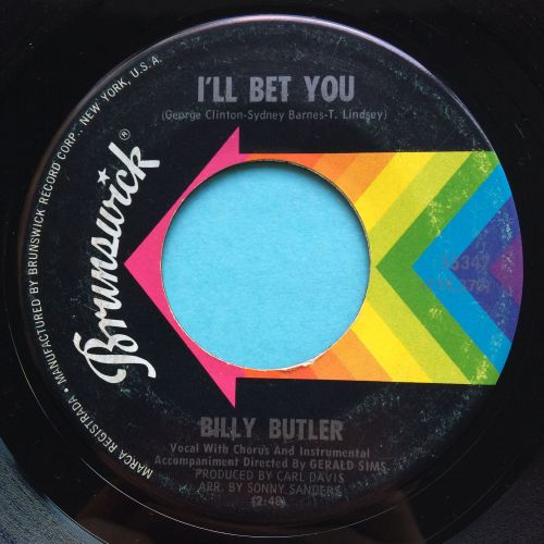 Billy Butler - I'll bet you - Brunswick - Ex-