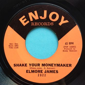Elmore James - Shake your moneymaker b/w Look on yonder wall - Enjoy - Ex
