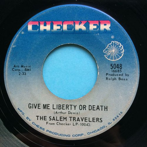 Salem Travelers - Give me liberty or deth - Checker - VG+