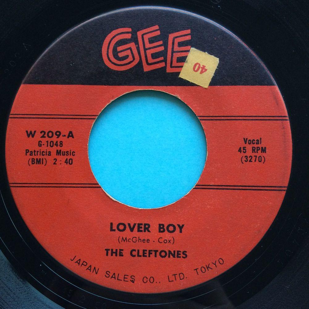Cleftones - Lover Boy - Gee - VG+ (sol)