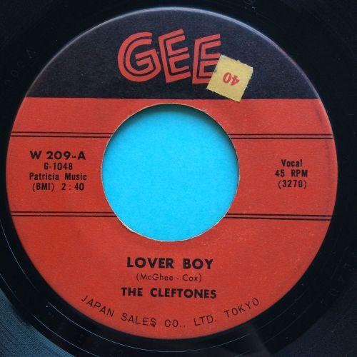 Cleftones - Lover Boy - Gee - VG+