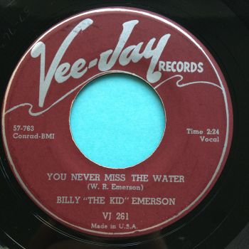 Billy 'The Kid' Emerson - You never miss the water - Vee-Jay - Ex