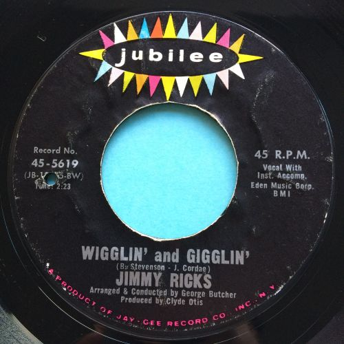 Jimmy Ricks - Wigglin' and Gigglin'  - Jubilee - Ex