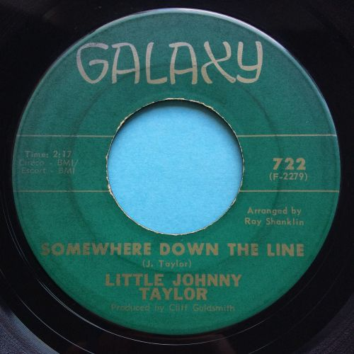 Little Johnny Taylor - Somewhere down the line - Galaxy - Ex-