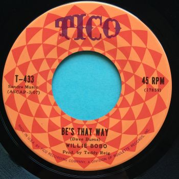 Willie Bobo - Be's that way - Tico - Ex