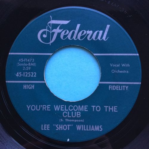 Lee Shot Williams - You're welcome to the club - Federal - Ex-