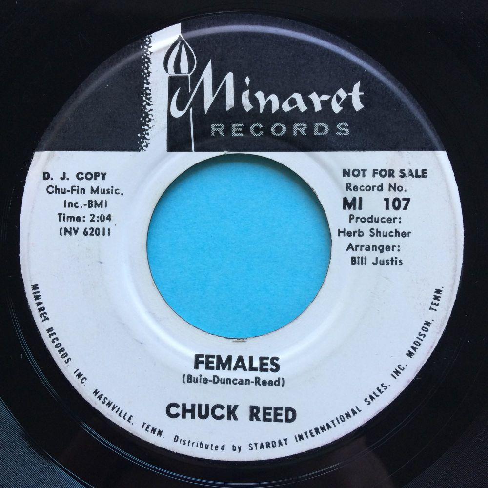 Chuck Reed - Females - Minaret promo - VG+