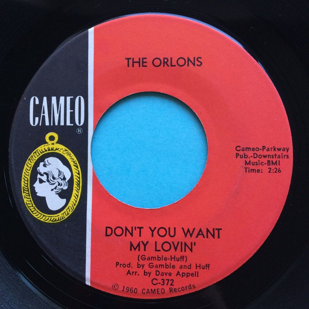 Orlons - Don't you want my lovin' - Cameo - Ex