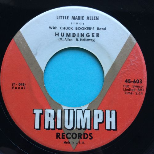 Little Marie Allen - Humdinger - Triumph - Ex-