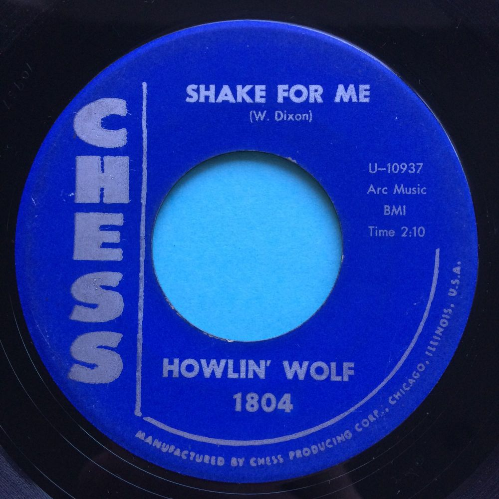Howlin' Wolf - Shake for me - Chess - Ex-