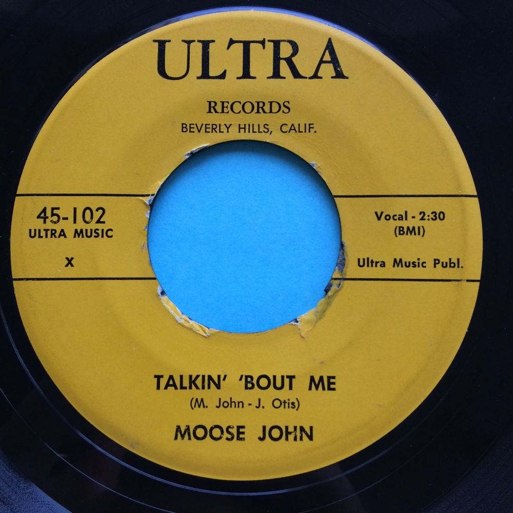 Moose John - Talkin' 'bout me - Ultra - VG+