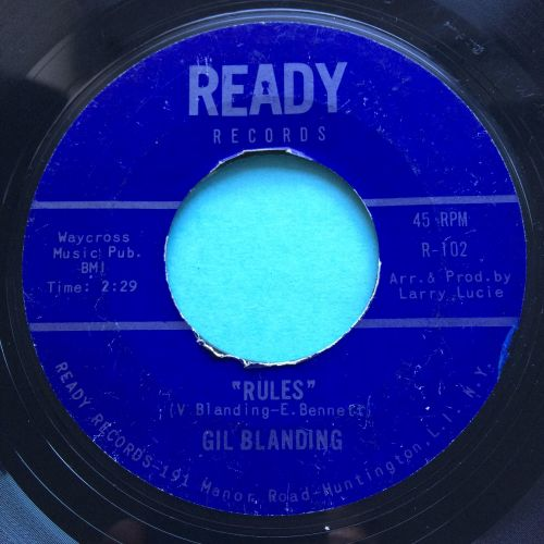 Gil Blanding - Rules - Ready - VG+