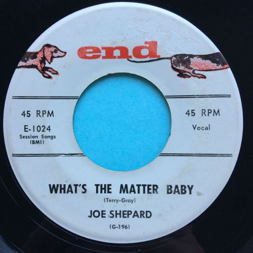 Joe Shepard - What's the matter baby - End - Ex-