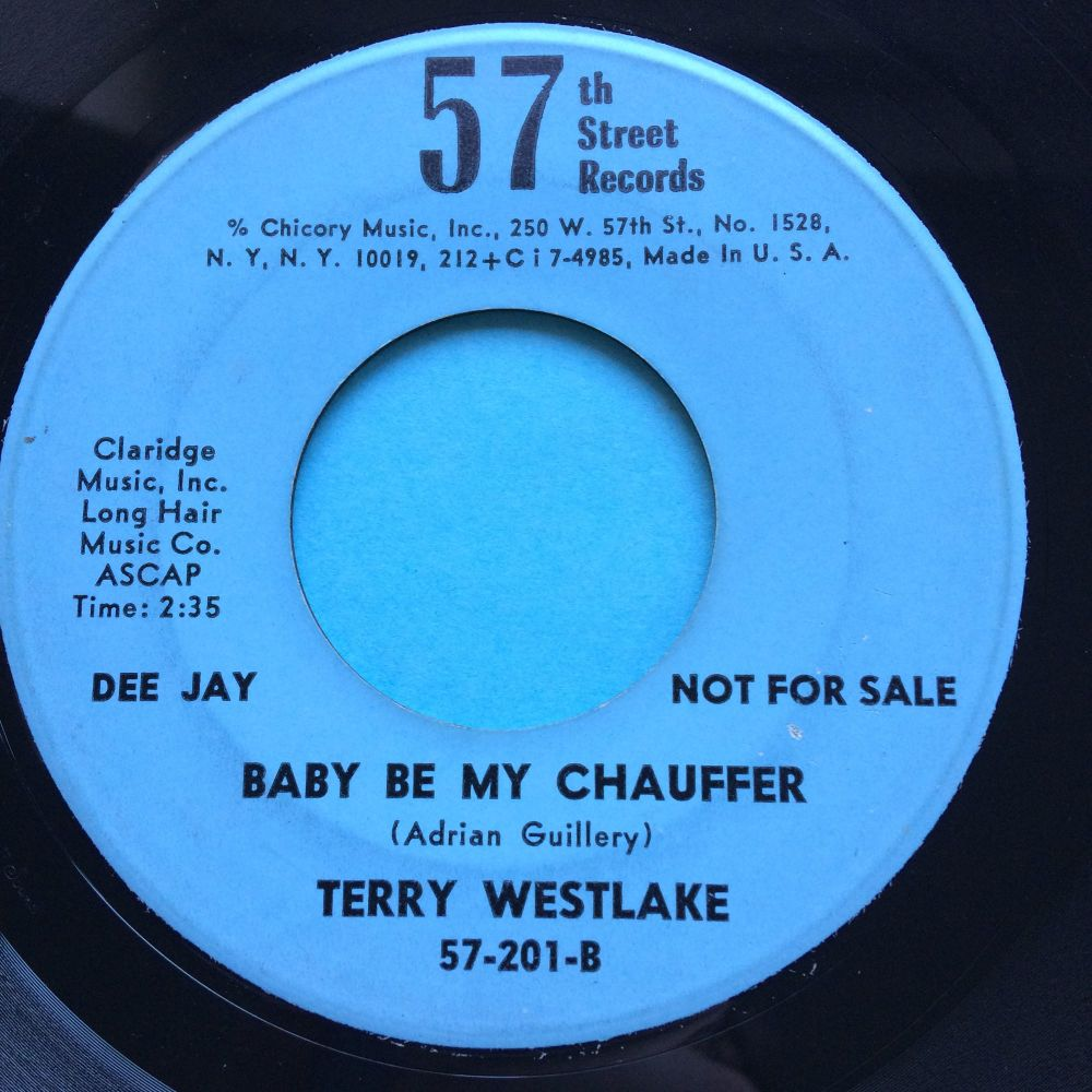 Terry Westlake - Be my chauffeur - 57th Street - Ex