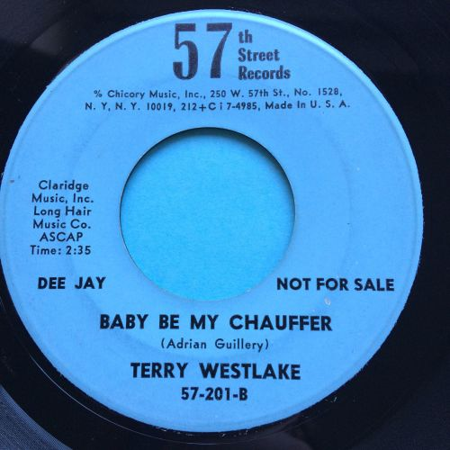 Terry Westlake - Be my chauffeur - 57th Street - Ex