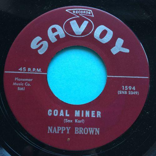 Nappy Brown - Coal Miner - Savoy - Ex