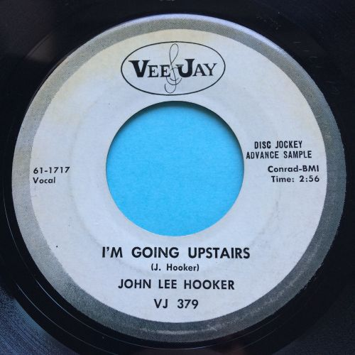 John Lee Hooker - I'm going upstairs - Vee Jay promo - Ex-