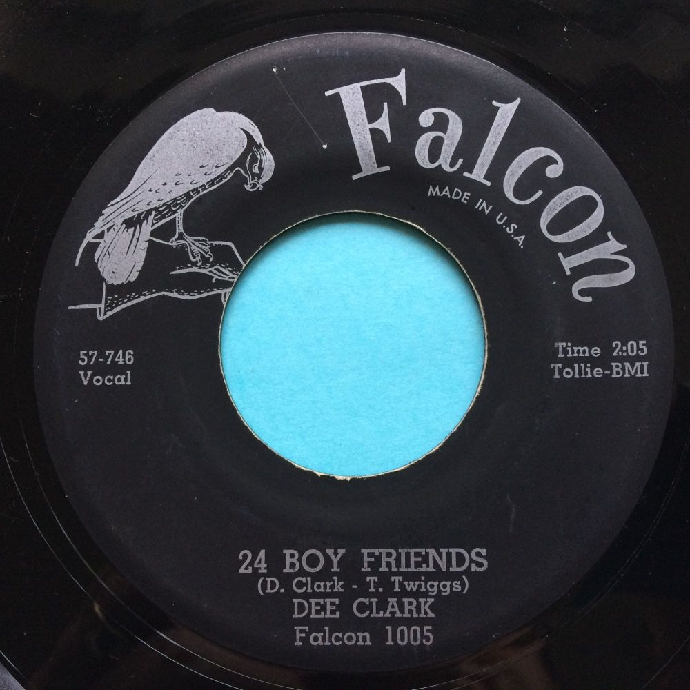 Dee Clark - 24 Boy Friends - Falcon - VG+