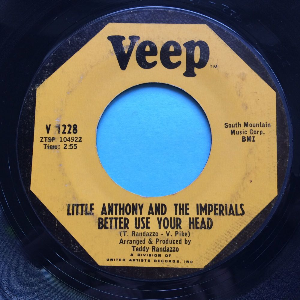 Little Anthony - Better use your head - Veep - VG+