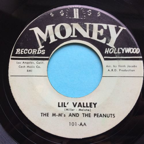 M-M's and the Peanuts - Lil' Valley - Money - VG+
