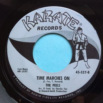 Peels - Time marches on - Karate - Ex-