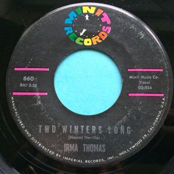 Irma Thomas - Two winters long - Minit - VG+