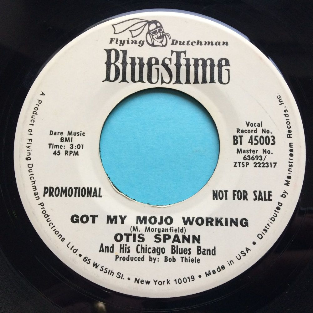 Otis Spann - Got my mojo working - Bluestime promo - Ex