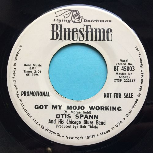 Otis Spann - Got my mojo working - Bluestime promo - Ex