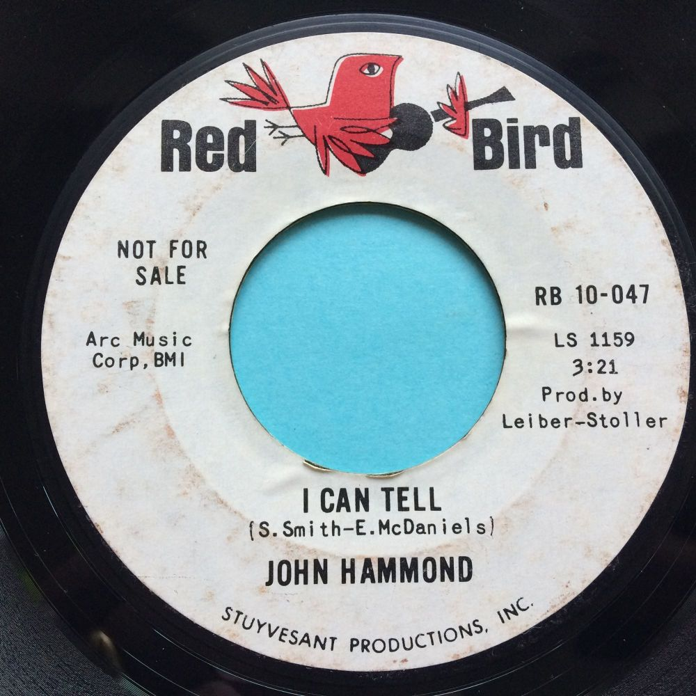 John Hammond - I can tell / I wish you would - Red Bird promo - Ex-