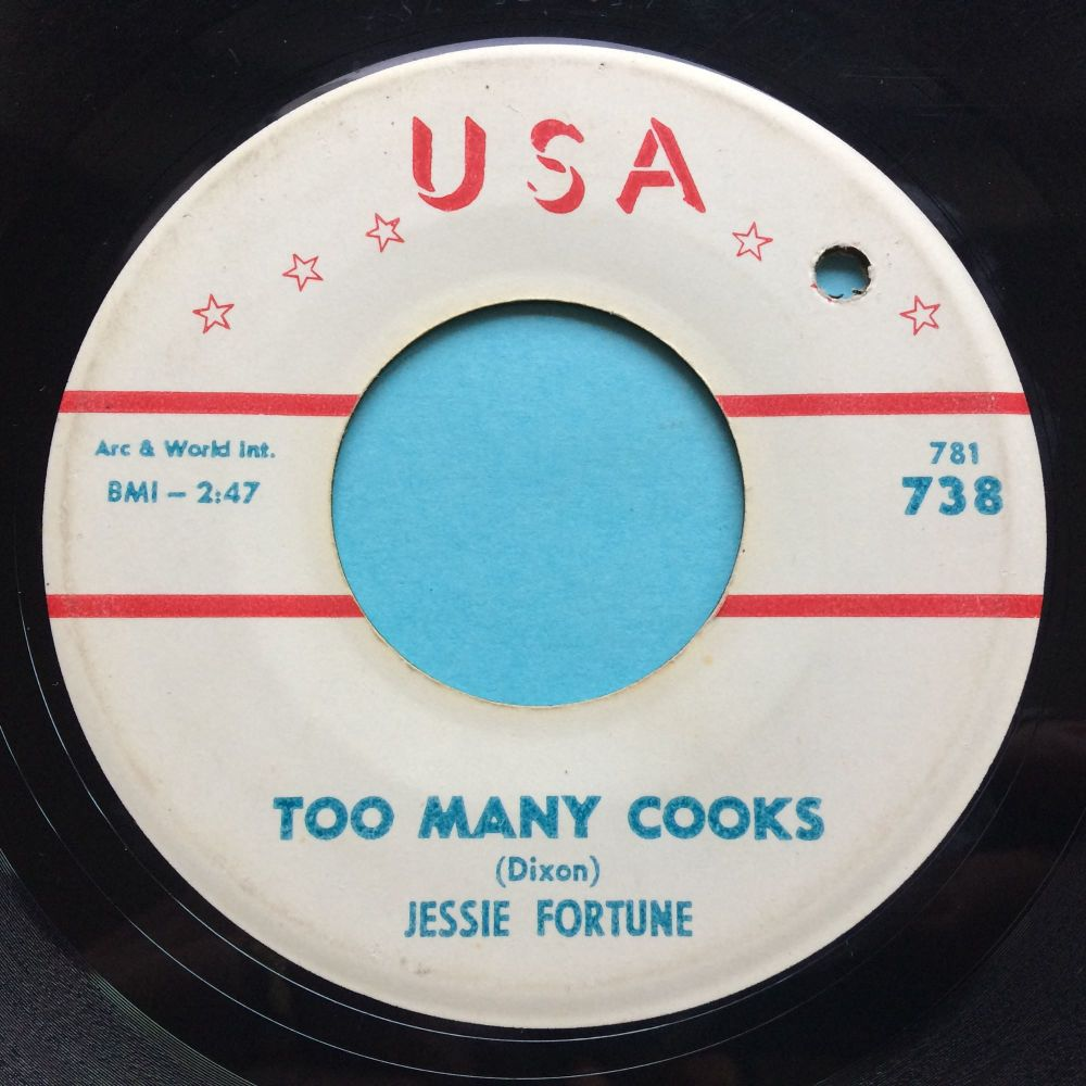Jessie Fortune - Too many cooks - USA - VG+
