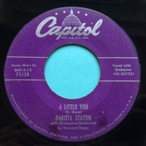 Dakota Staton - A little you - Capitol - VG+