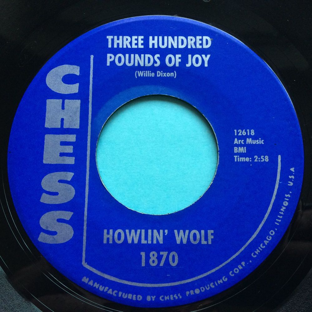Howlin' Wolf - Three hundred pounds of joy - Chess - Ex