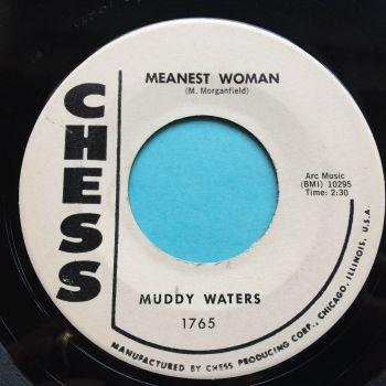 Muddy Waters - Tiger in your tank b/w Meanest woman - Chess promo - Ex-