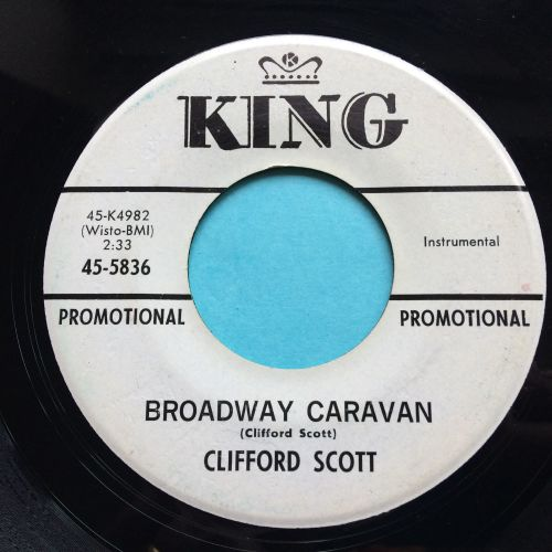 Clifford Scott - Broadway caravan - King promo - Ex-
