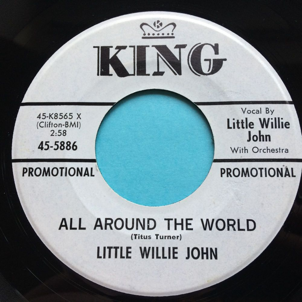 Little Willie John - All around the world - King promo - Ex