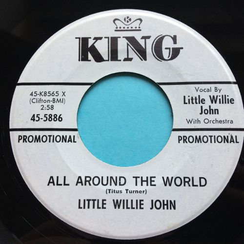 Little Willie John - All around the world - King promo - Ex