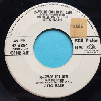 Otto Bash - You're cool to me baby - RCA Victor promo EP - VG+
