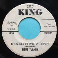 Titus Turner - Miss Rubberneck Jones - King promo - Ex