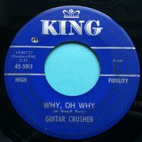 Guitar Crusher - Why, oh why - King - VG+