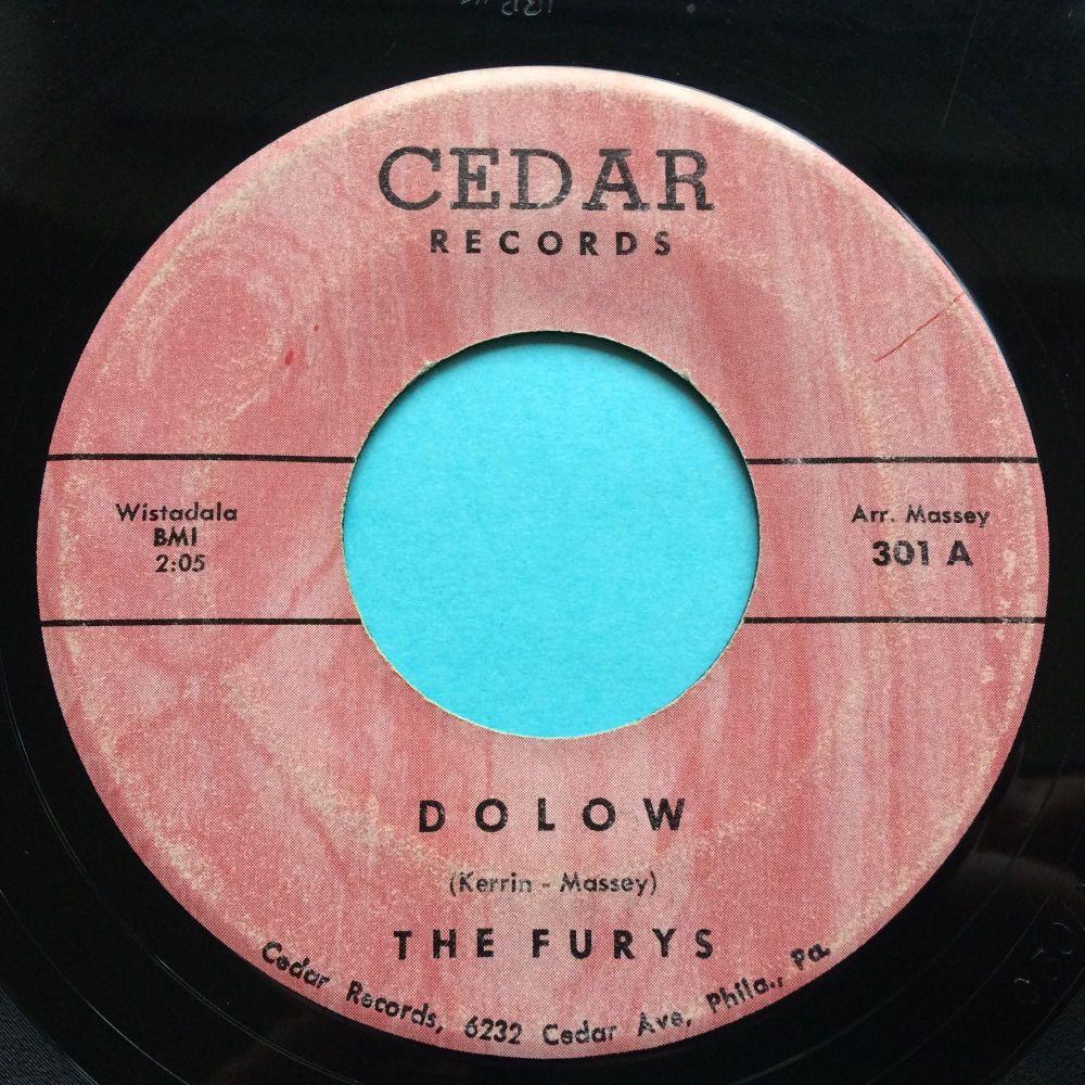 Furys - Dolow b/w The Storm - Cedar - Ex-