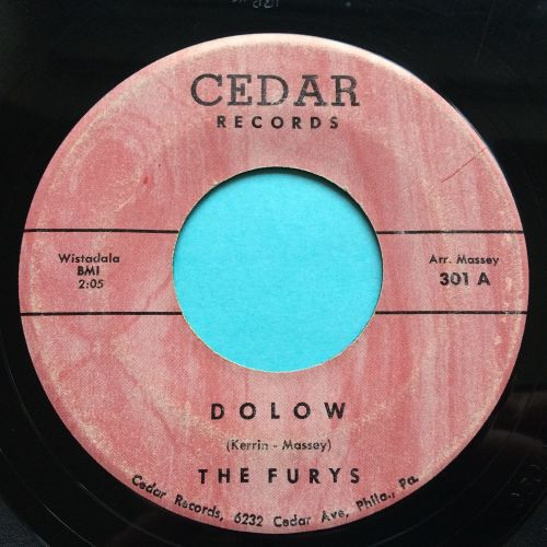 Furys - Dolow b/w The Storm - Cedar - Ex-