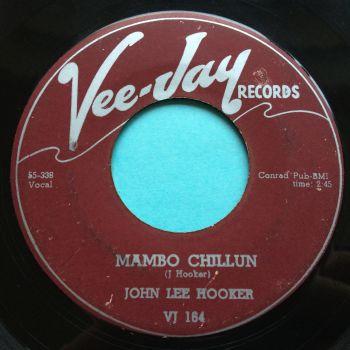 John Lee Hooker - Mambo Chillun - Vee-Jay - VG+