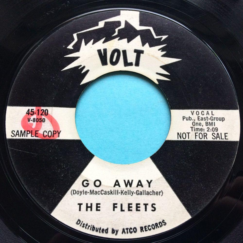Fleets - Go away - Voly promo - VG+