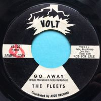 Fleets - Go away - Voly promo - VG+